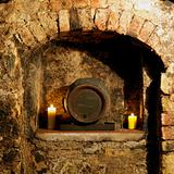 wine cellar, Litomerice, Czech Republic