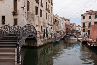 Bridges over the canals
