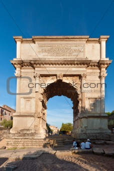 The Titus arch