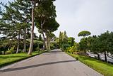 Walk at the Vatican Gardens