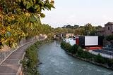 View at the Tiberis river