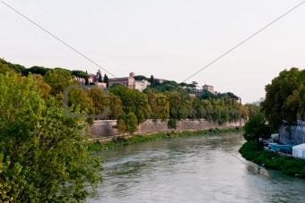 Tiberis river