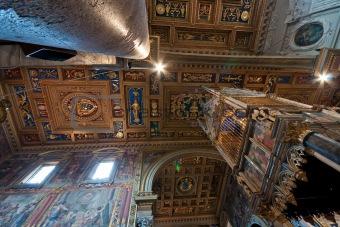 Ceil in church