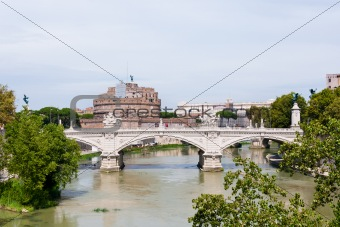Angelo bridge and castle