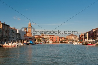 Canal in Murano