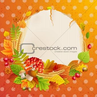 Autumn vintage