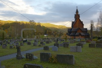 church, Heddal, Norway