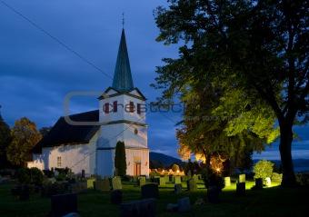 church, Nes, Norway