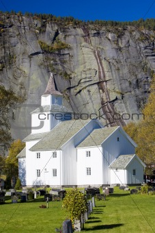 church, Valle, Norway