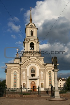 Cathedral in Donetsk / Ukraine