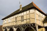 wooden house from the 15th century, Mervans, Burgundy, France