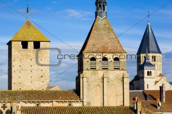 Abbey of Cluny, Burgundy, France