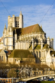 Auxerre Cathedral, Burgundy, France