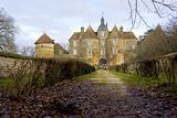 Chateau de Ratilly, Burgundy, France