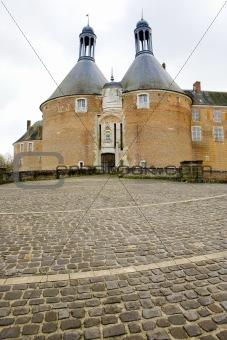 Saint Fargeau Castle, Burgundy, France