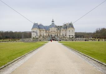 Palace Vaux-le-Vicomte, Seine-et-Marne, Île-de-France, France