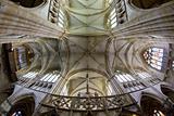 interior of basilica Notre-Dame-de-l´Eoine, L'Epine, Champagne, France