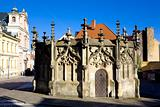 Stone Fountain, Kutna Hora, Czech Republic
