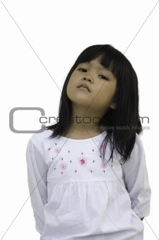 Asian children lady