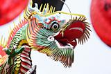 traditional chinese dragon sculpture