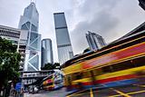 Hong Kong rush traffic