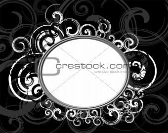 Black Retro frame