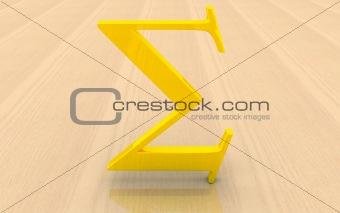 Greek letter Sigma