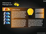 Web site design template5