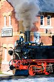 steam locomotive, Steinbach - Johstadt, Germany