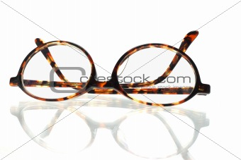 Old fashion eyeglasses