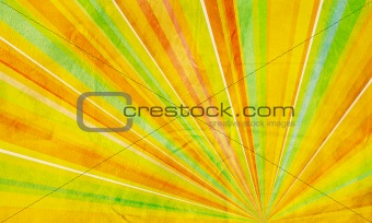 Geometric abstract background yellow orange green and red