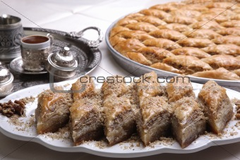 Coffee and Baklava