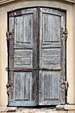 Old timeworn doors.