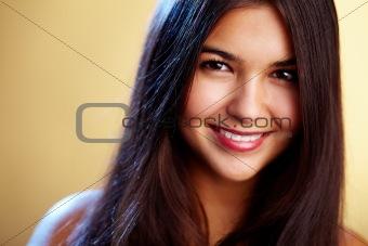 Bright brunette