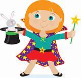 Girl Magician
