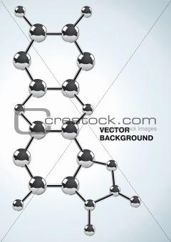 Illustration of the chemical formula