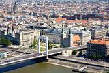 Elizabeth bridge, Budapest, Hungary