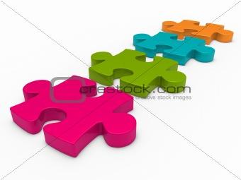 3d puzzle series