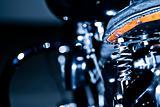 motorbike seat spring