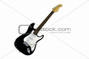 An electric guitar