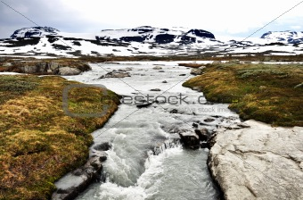 A torrent in Norway