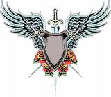 heraldic classic emblem shield