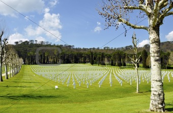 American cemetery outside Florence