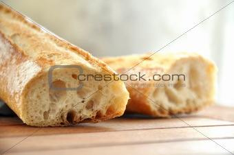 A traditional french loaf