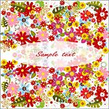 summer flower background