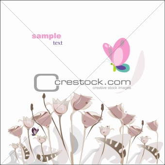 beauty flower background