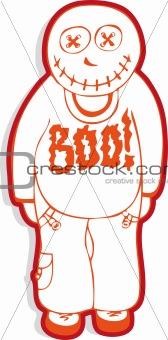 A Halloween doll