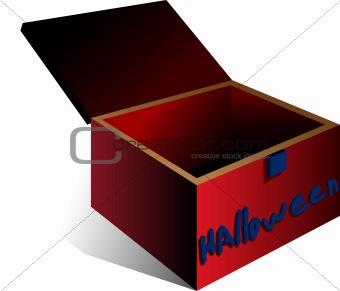A Halloween box