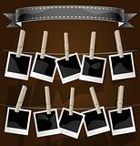 Modern Photo Album Display