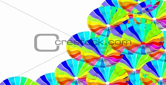 Circle colour graphic